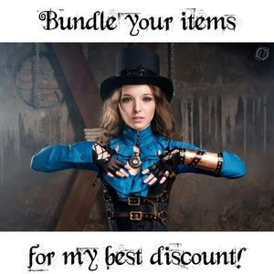 Bundle items to receive my best discount!!